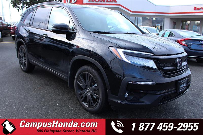 2019 Honda Pilot Black Edition #19-0093