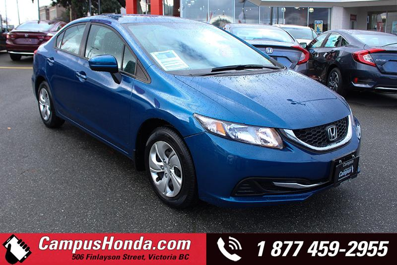 2015 Honda Civic Sedan LX Bluetooth #19-0117A