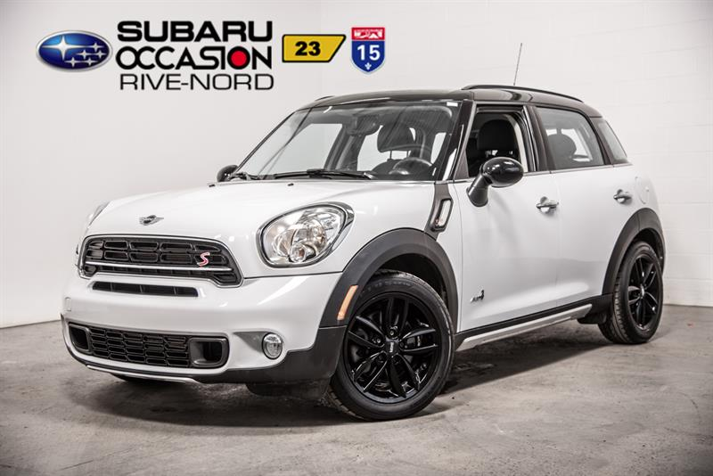 Mini Cooper Countryman 2015 S ALL4 TOIT.PANO+MAGS+SIEGES.CHAUFFANTS #S943493A