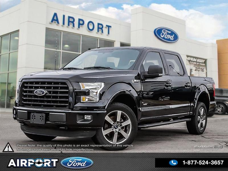 2016 Ford F-150 XLT Sport with only 42,927 kms #1HL101