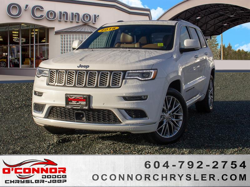 2018 Jeep Grand Cherokee Summit #U15871