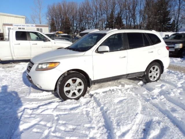 2009 Hyundai Santa Fe Limited sunroof and leather AWD