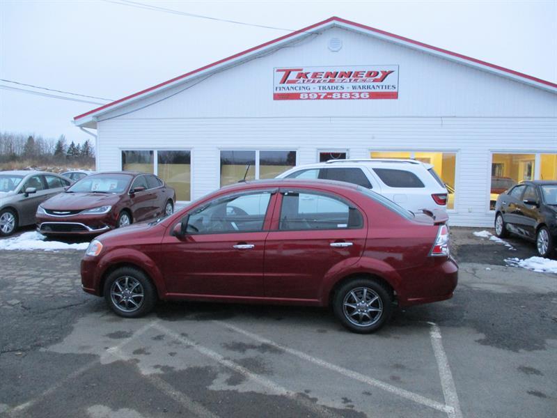 Chevrolet Aveo 2011 4dr Sdn LT #132926