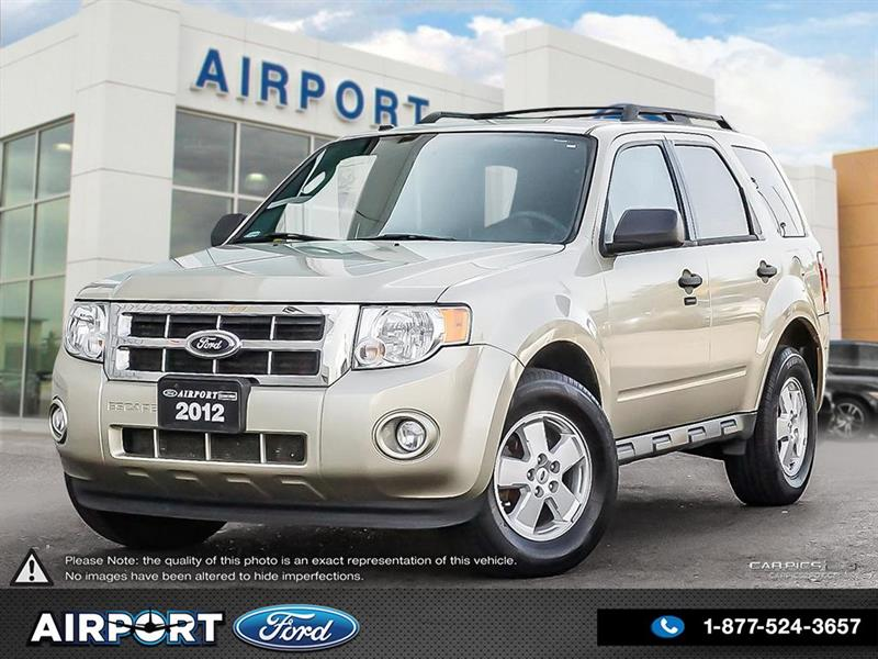 2012 Ford Escape XLT FWD with only 122,293 kms #A80108