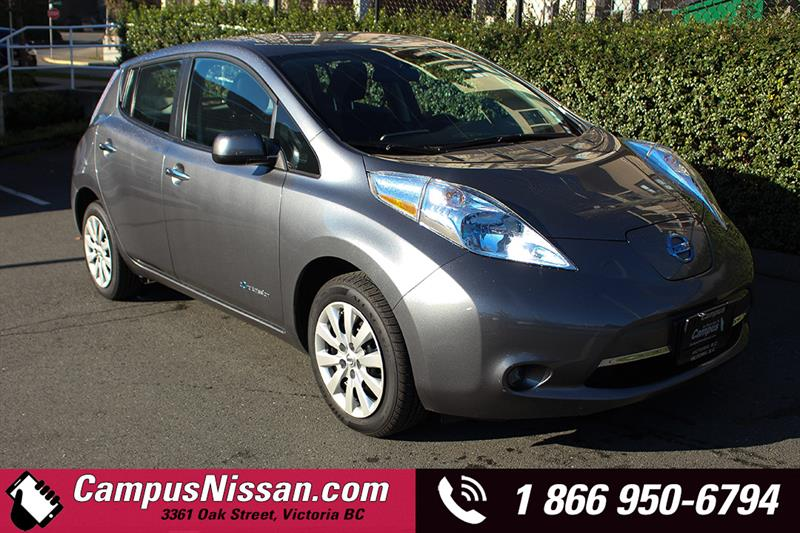2014 Nissan Leaf | S | FWD w/ Quick-Charge #JN3062