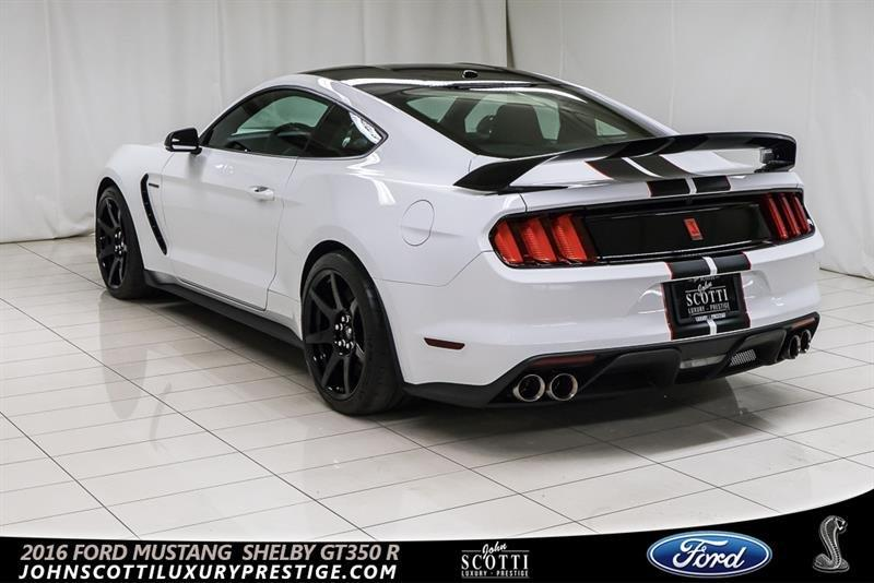 ford mustang gt 350 r shelby 2016 occasion vendre kirkland chez john scotti luxury prestige. Black Bedroom Furniture Sets. Home Design Ideas