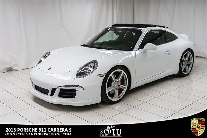 2013 Porsche 911 Carrera S - EXTENDED WARRANTY #C0351