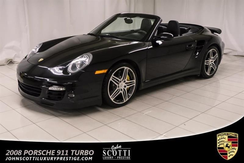 Porsche 911 Turbo 2008 Carbriolet MANUAL #P15990