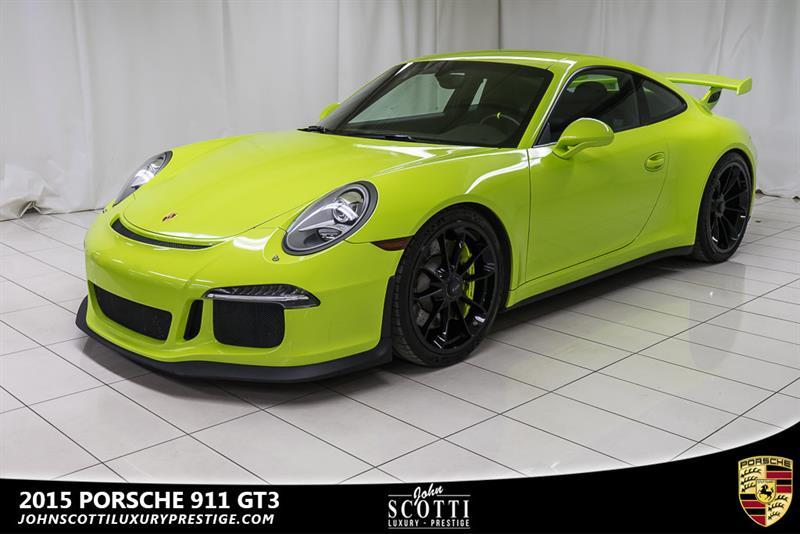 2015 Porsche 911 GT3 #C0358
