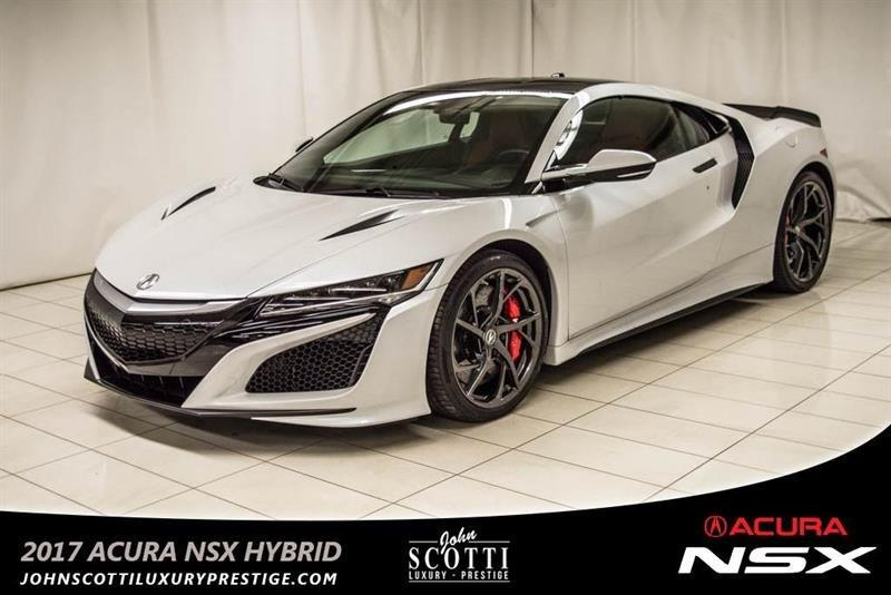 Acura NSX AWD Hybrid 2017 52,000$ in Options #C0314