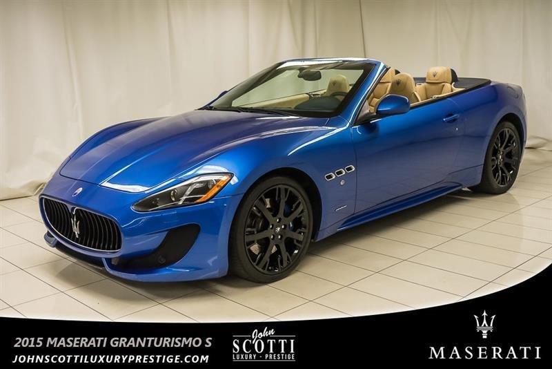 2015 Maserati GranTurismo Convertible Sport #P16021