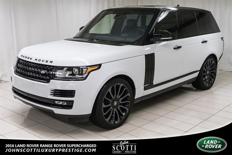 2016 Land Rover Range Rover Supercharged #P15883