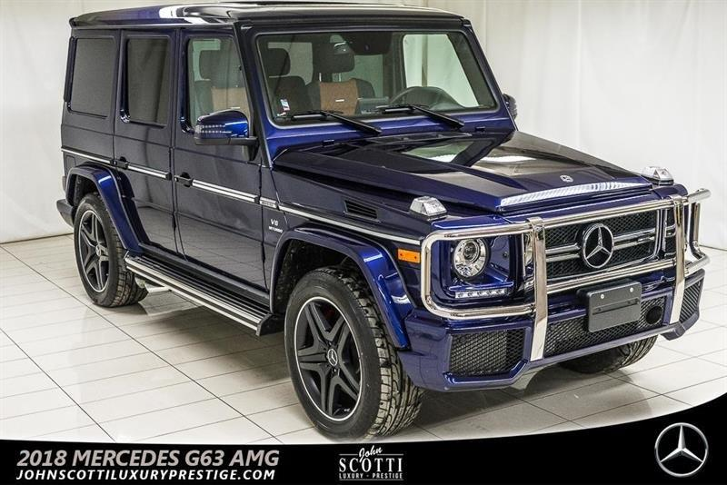 2018 Mercedes Benz G Class G63 Amg Used For Sale In Kirkland At John