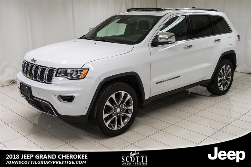 Jeep Grand Cherokee 2018 Limited #P16087A