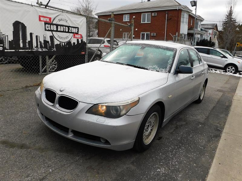 BMW 5 Series 2005 530i AUTOMATIQUE AIR CLIMATISÉ #5B817002