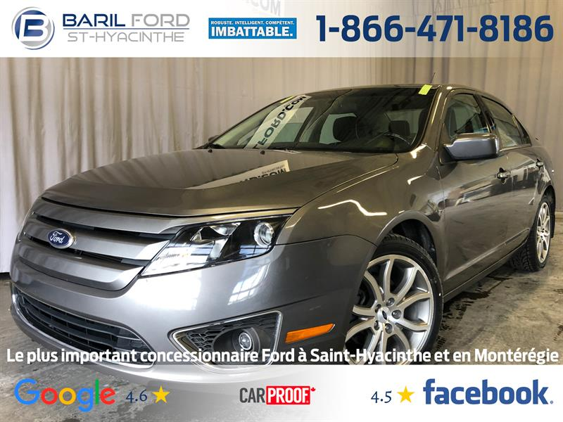 Ford Fusion 2012 4dr Sdn SE FWD #80872A