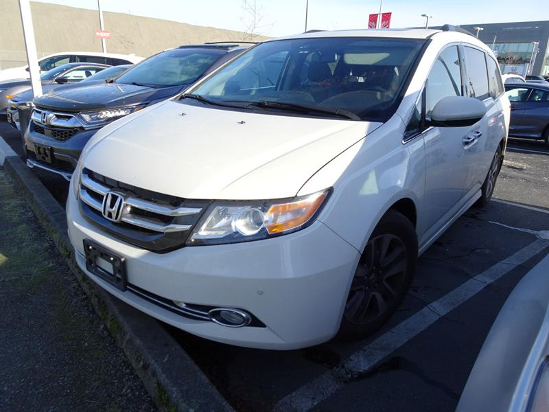 2015 Honda Odyssey Touring. Honda Certified Extended Warranty to 160, #LH8451