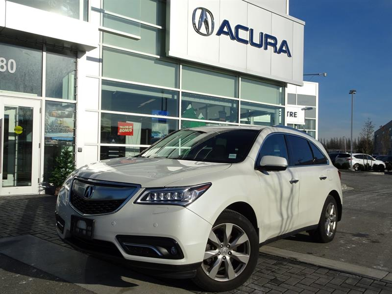 2016 Acura MDX Elite Acura Certified #997315A