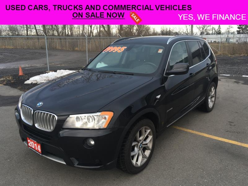 2014 BMW X3  Perfect SUV for Winter!! xDrive28i #018086