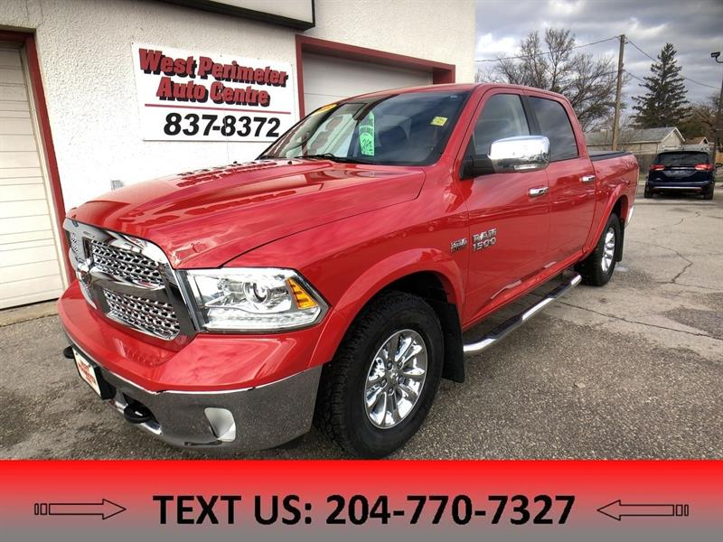 2013 Ram 1500 Laramie Crew ** Heated Leather ** Navigation ** #5041