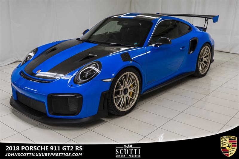 2018 Porsche 911 GT2 RS PTS Voodoo Blue #LA1927A