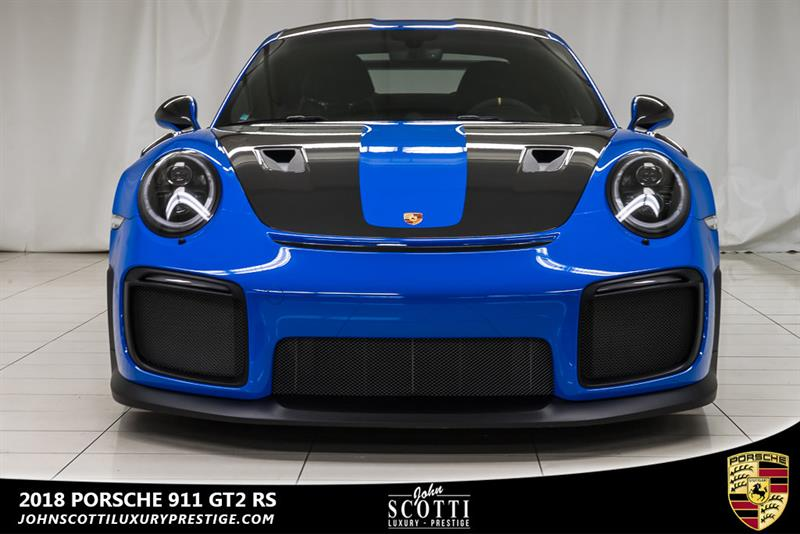 2018 Porsche 911 GT2 RS PTS Voodoo Blue Used for sale in