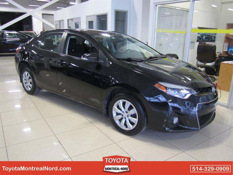 Toyota Corolla 2016 S Aut/Ac/Vitres,Portes,Miroirs Electriques #3445 AT