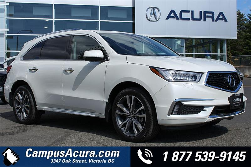 Mdx Cash Back >> 2019 Acura Mdx Elite Demonstrator For Sale In Victoria At Campus