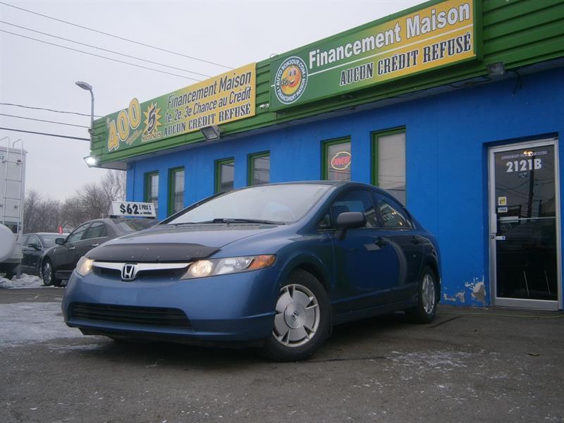 Honda Civic Sdn 2008 4dr Man DX-G **entrée sans clé** #18-017-1