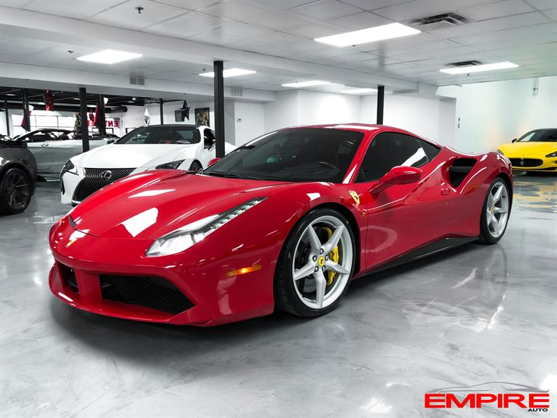 Ferrari 488 GTB 2017 V8 TWIN TURBO 3.9L #A227333