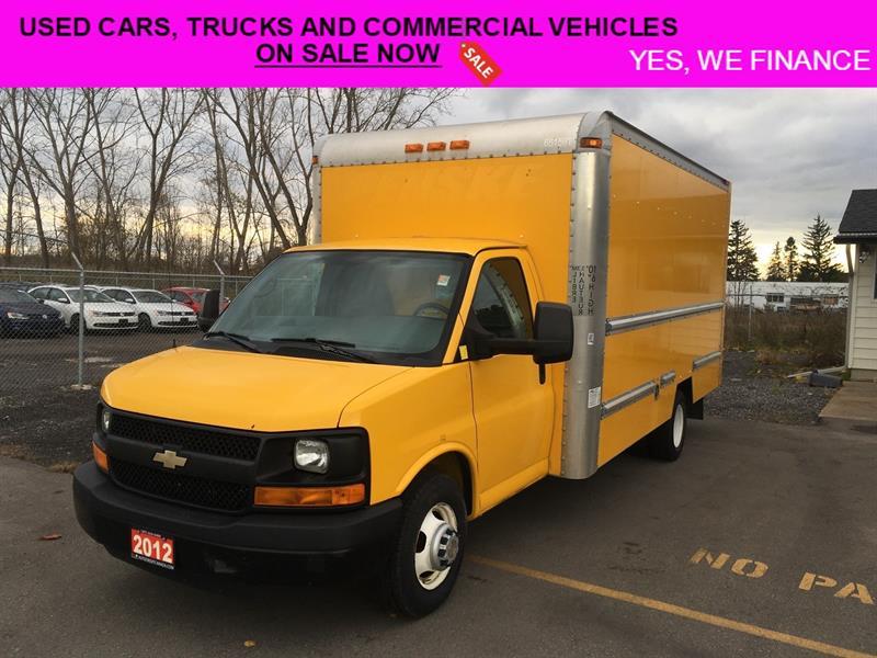 2012 Chevrolet C/K 3500 Commercial Cargo Van #018178