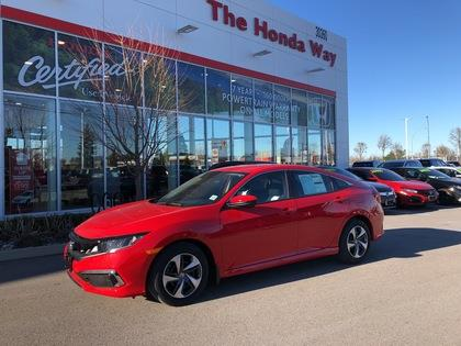 2019 Honda Civic Sedan LX CVT #19-124