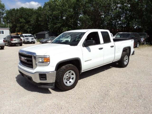 2015 GMC Sierra 1500 Double Cab 4x4 5.3L local truck