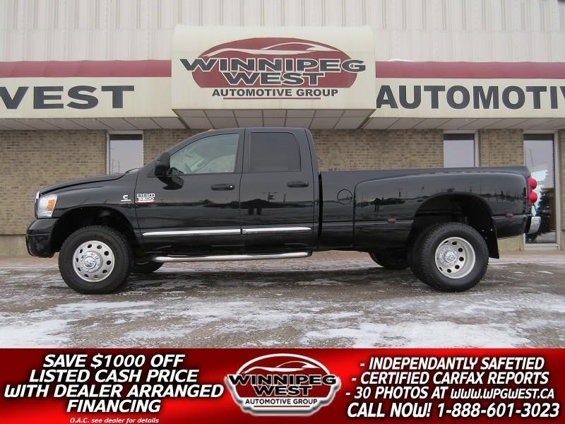 2007 Dodge Ram 3500 LARAMIE**5.9L CUMMINS**DUALLY 4X4, LOADED,FLAWLESS #DW4787