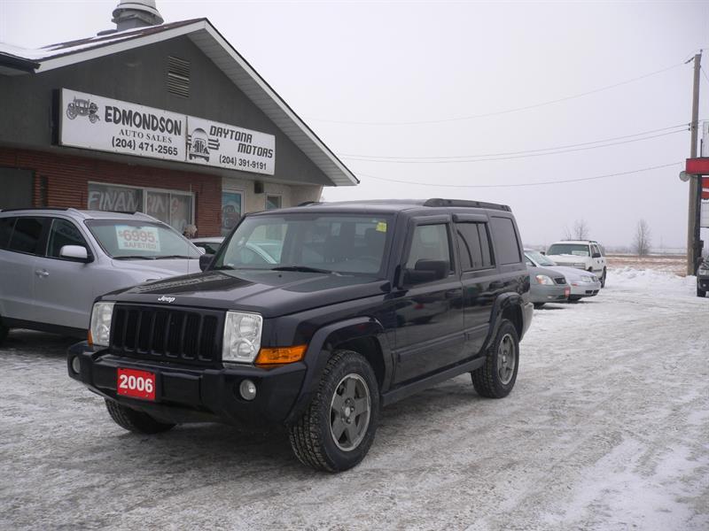 2006 Jeep Commander #5829
