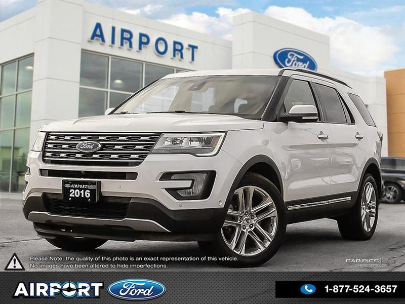 2016 Ford Explorer Limited 4WD with only 55,986 kms #1HL106