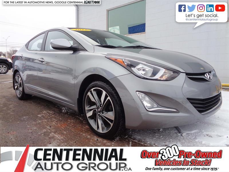 2015 Hyundai Elantra GLS | FWD | Bluetooth | Heated Seats | Backup Cam #18-332A