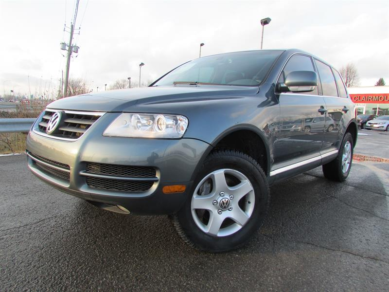 Volkswagen Touareg 2007 V6 4X4 A/C CRUISE CUIR TOIT OUVRANT!!! #3630