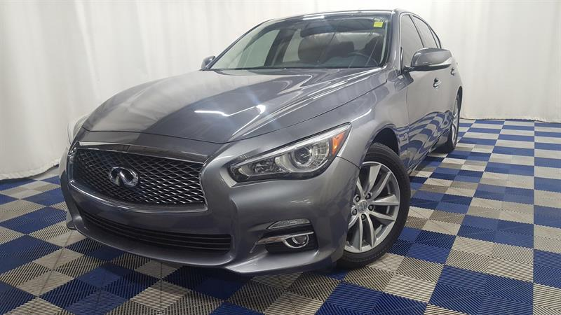 2014 Infiniti Q50 /DUAL SCREEN/NAVIGATION/ BACK UP CAM Premium #LUX14IQ07755
