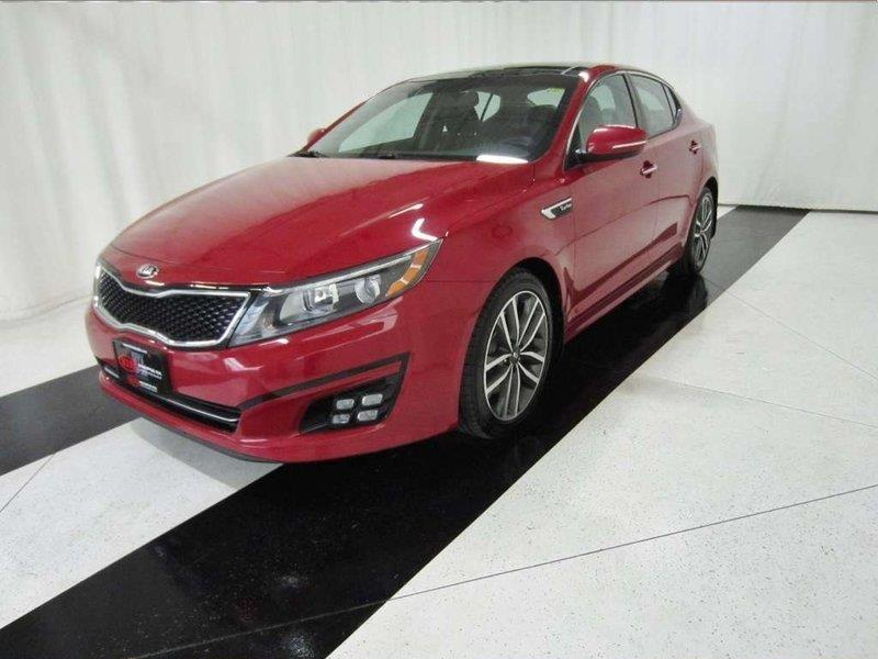2014 Kia Optima SX Turbo Leather, Sunroof, Navigation #14KO03667