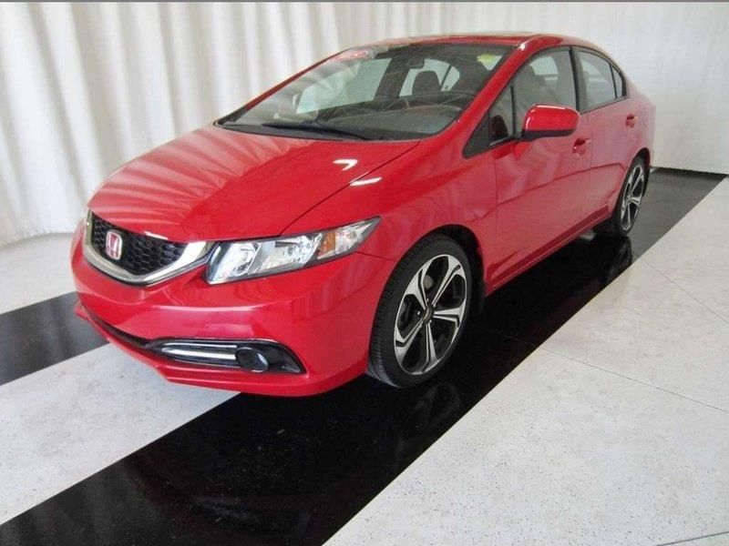 2015 Honda Civic Sedan Si *Sunroof/Nav/No Accidents* #15HC00151