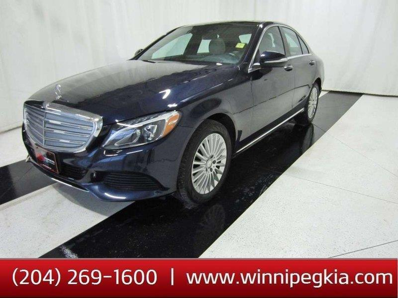 2015 Mercedes-Benz C-Class Luxury PKG, Heads up display, Panoramic Sunroof #15MC55333