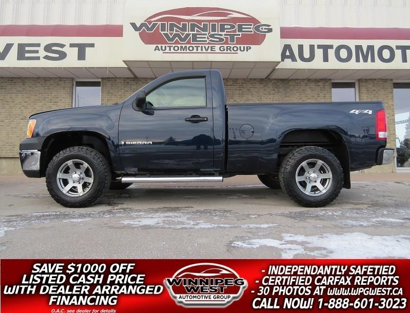 2008 GMC Sierra 1500 SPORTY SHORTY V8 4X4 , AIR, TILT, LOW LOW KMS!! #GW4866