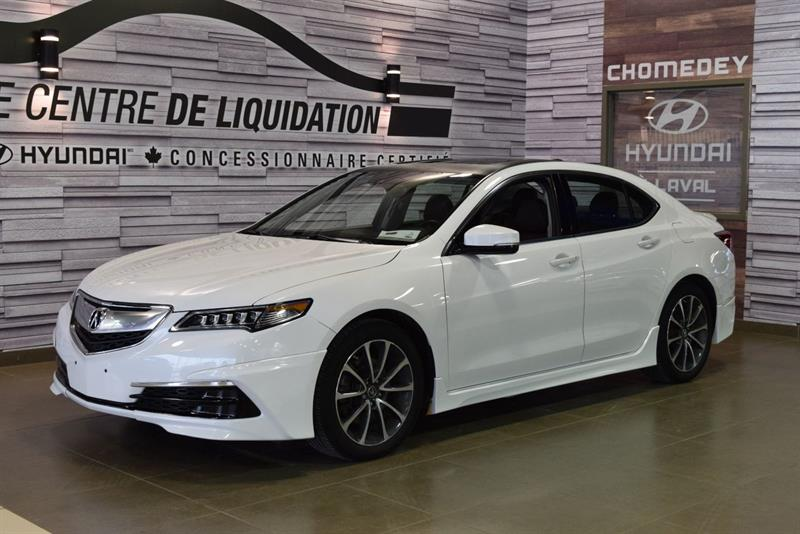 Acura TLX 2015 TECH+AWD+KIT AERO PACK+V6+GPS+CUIR #s8694