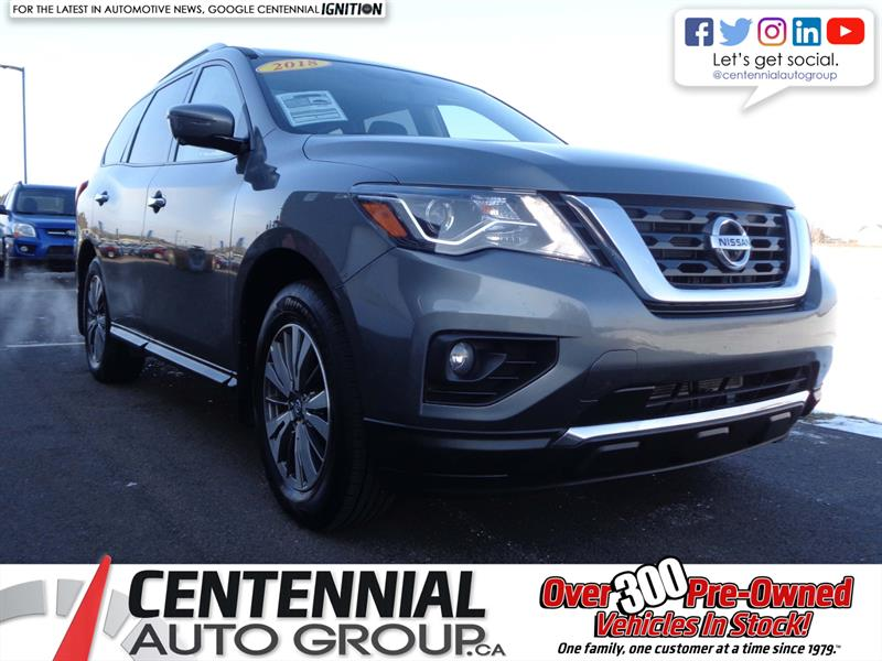 2018 Nissan Pathfinder SL | SAVE $6000 COMPARED TO NEW | #SP18-039