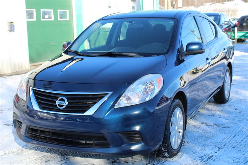 Nissan Versa 2012 4dr Sdn I4 1.6 #PV6785