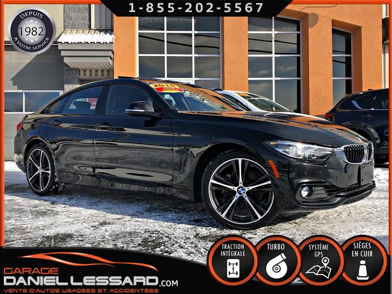 BMW 4 Series 2018 430i XDRIVE GRAND COUPE, CUIR, GPS, TOIT, CAM 360 #88356