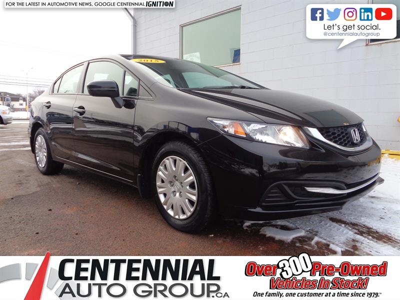 2015 Honda Civic Sedan LX | FWD | Bluetooth | Heated Seats | Power Window #18-410A
