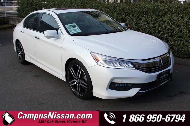 2016 Honda Accord Sedan | Touring | Manual | FWD  #9-F065A