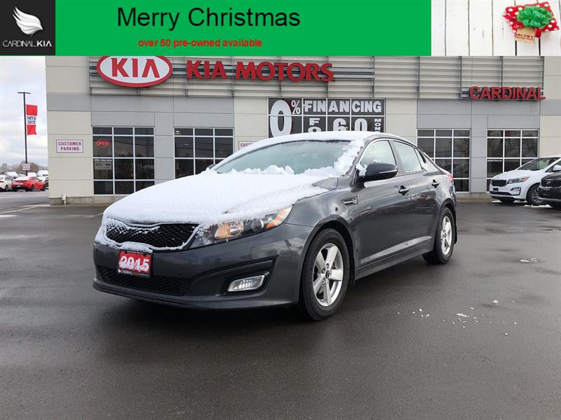 2015 Kia Optima LX *ONE OWNER**NO ACCIDENTS* #8025